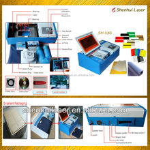 mini cheap laser engraving machine for stamps wood plastic