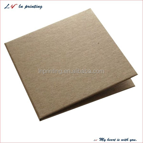 high quality custom unique foldable cardboard cd case, cd storage box, wholesale cd packaging