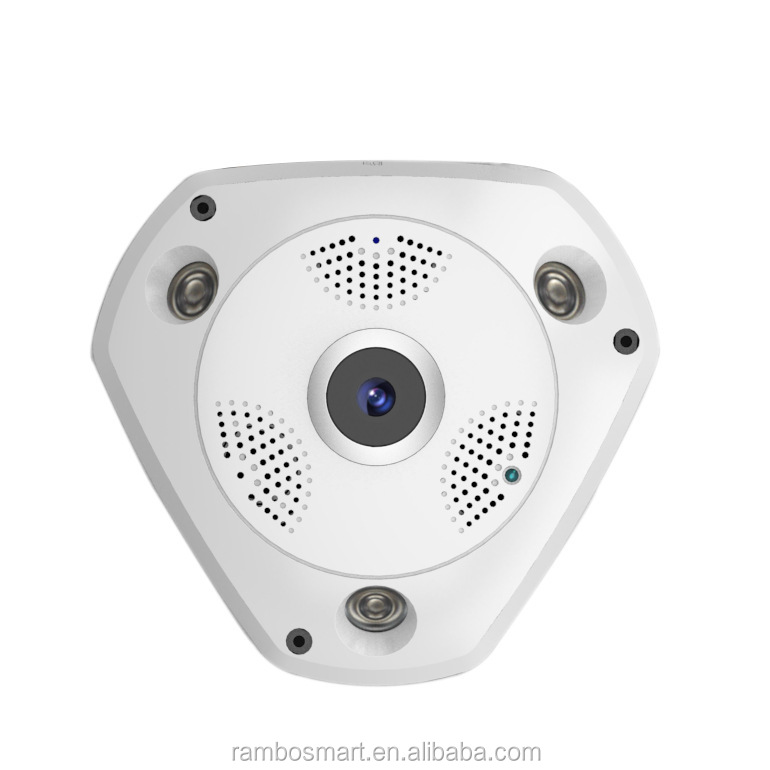 360 Degree Panorama Wireless WIFI IP Camera Home Security Surveillance System with two way Audio