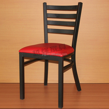 Metal frame wood colour restaurant chairs china