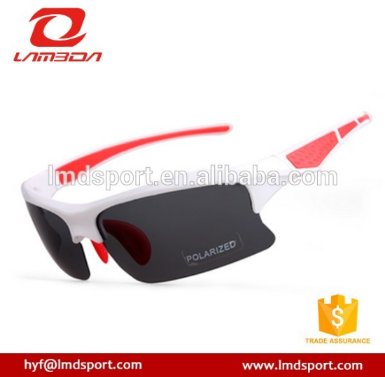 Wholesale half round frame metal sports driving sunglasses,outdoor uv400 cycling goggles