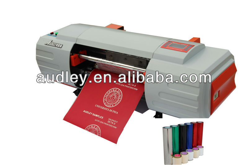 audley digital hot gold foil personalized beautiful gift printing machine ADL-330A