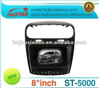 new Dodge Journey car radio with GPS, canbus, buletooth, radio,FM, TV, SD+8cdc+usb cable+ipod cable+hot in USA