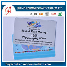 CR80 Plastic Customize business card design software