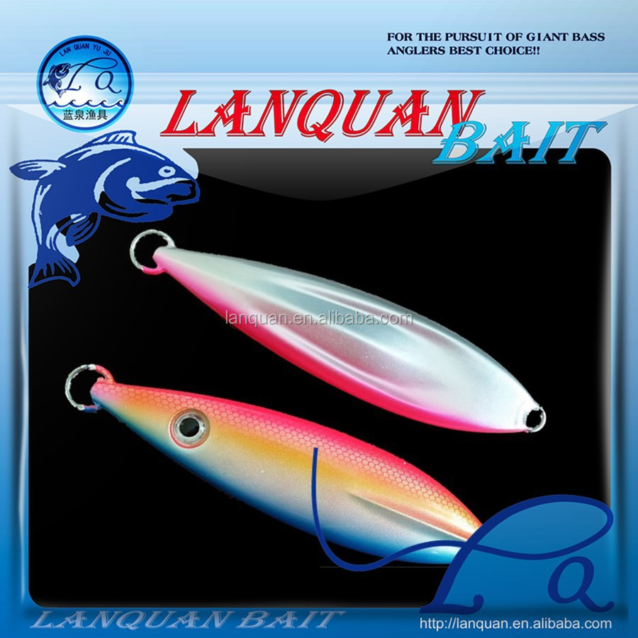 2015 LANQUAN new high quality metal Lead fishing lure jigging lure -LQL1319