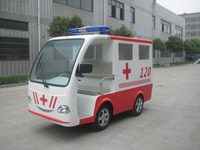5 persons long range mini electric closed ambulance car with low price from china for sale