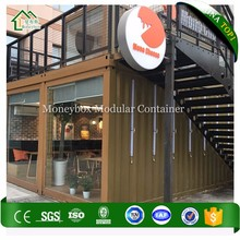 Competitive Price 20 ft container shop container bar 20ft prefabricated Modular Coffee House