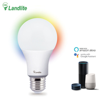 Google Assistant with Saving Energy-Lamp Light Smart Edison Bulb E27