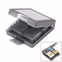 Anti Dust Anti Scratch Protect 16 in 1 Memory Card Holder Game Card Case Box for Nintendo 3DS LL XL DS Games Cards