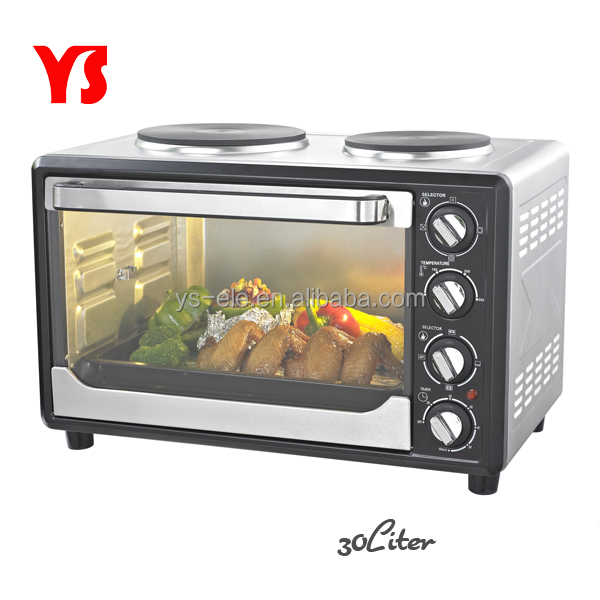 30L~45L electric hotplate oven with CB certificate and two hot plate proofer
