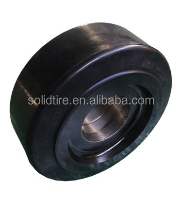 Anair press-on solid rubber tire
