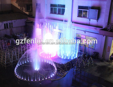Stainless steel 304 water dancing musical large bronze fountain