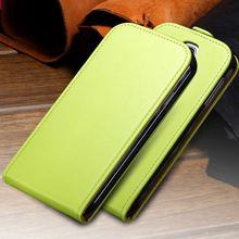 S4 Mini Korean Leather Sleeve For Samsung Galaxy S4 Mini Cover Magnetic Chip Vertical Flip Mobile Phone Cases