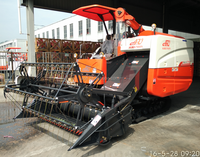 Longitudianl Axial Flow Model 88HP Rice Combine Harvester