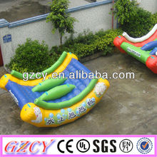 inflatable water toy, seesaw water toy