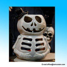 Halloween Gift White Ghost Tealight Candle Holder Lantern