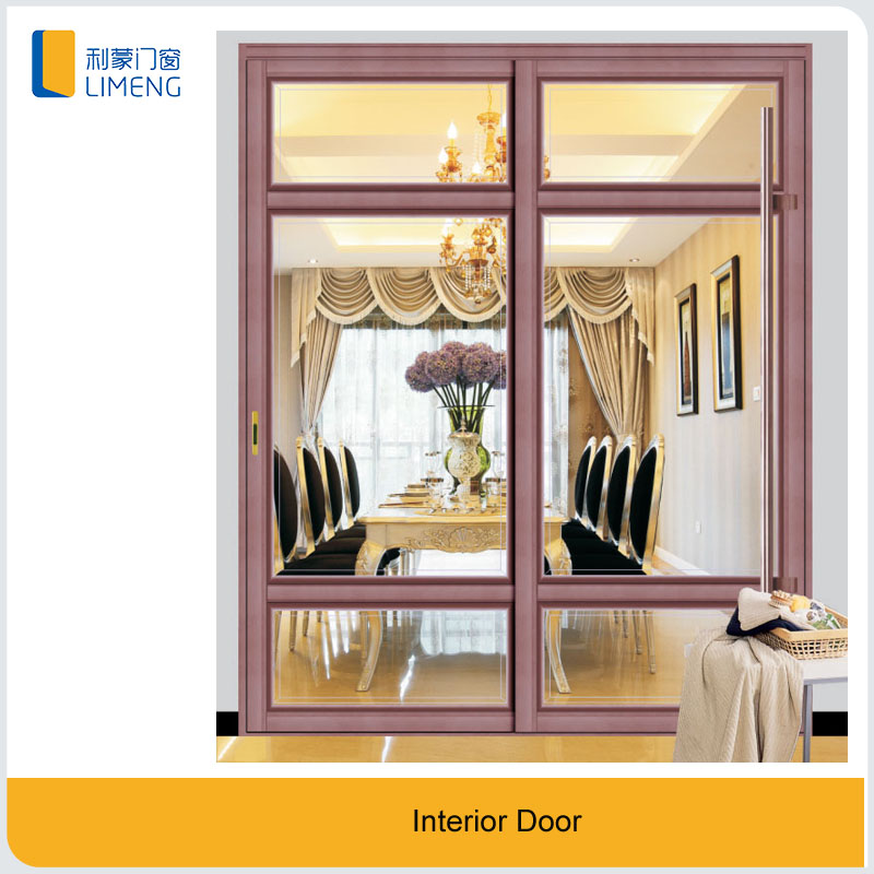 New style modern interior sliding glass <strong>door</strong> for bedroom
