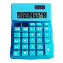 Desk top calculator, big blue calculator/ HLD-804