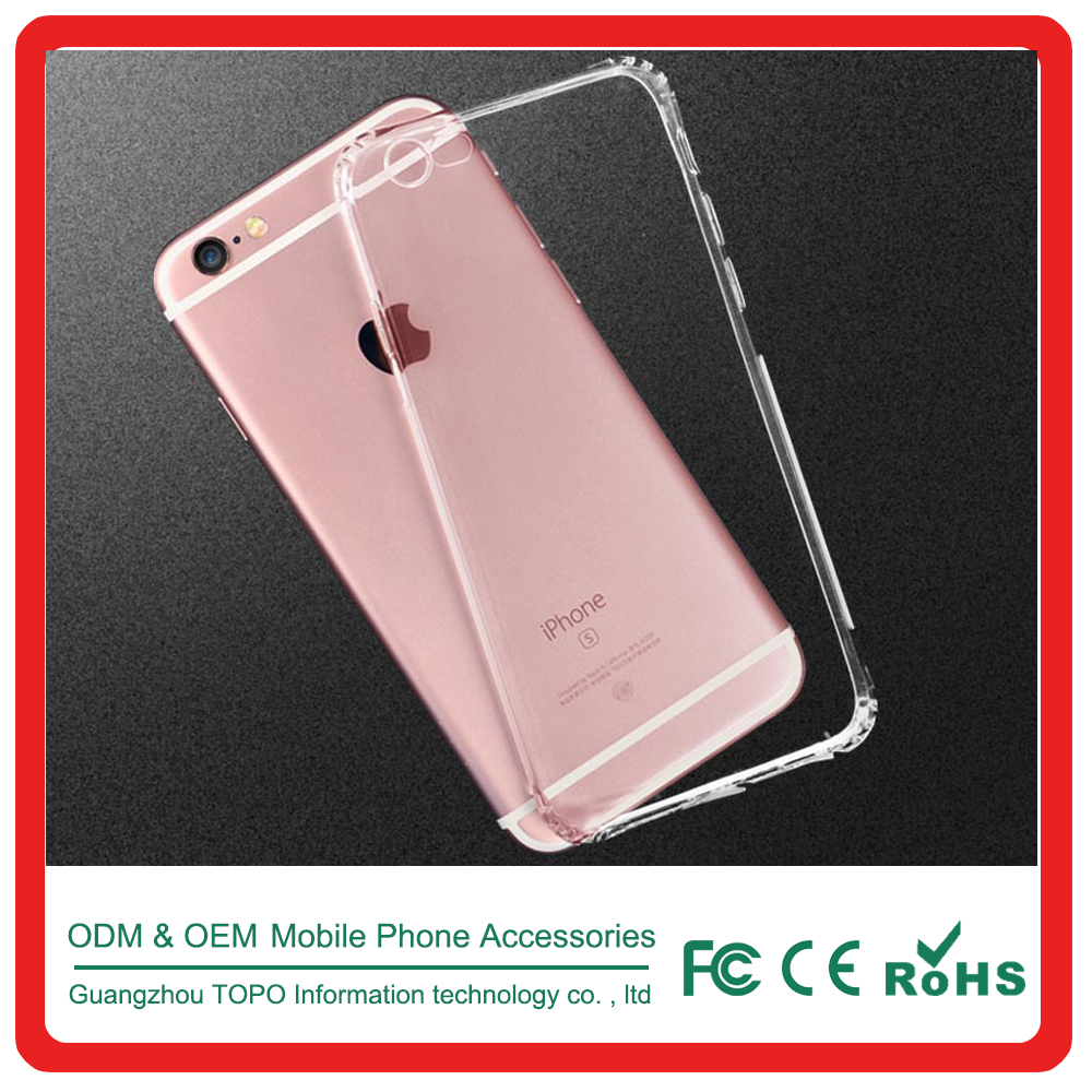 0.3mm Transparent soft TPU anti-Scratch Mobile cell Phone cover for Apple iPhone 7 case, Ultra Thin Case for iPhone 7 plus