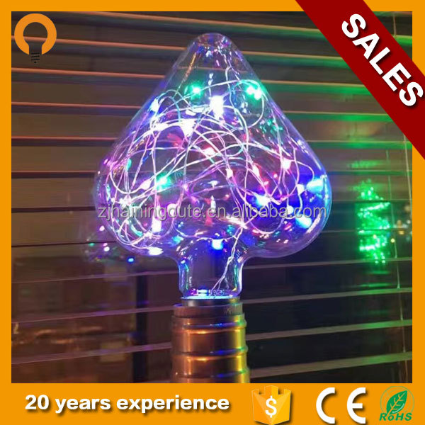 New products christmas decoration LED bulb st64 LED copper wire string light s 110V 220V