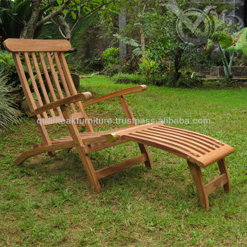 Teak Outdoor Deck Chairs Classic Design VSD 017
