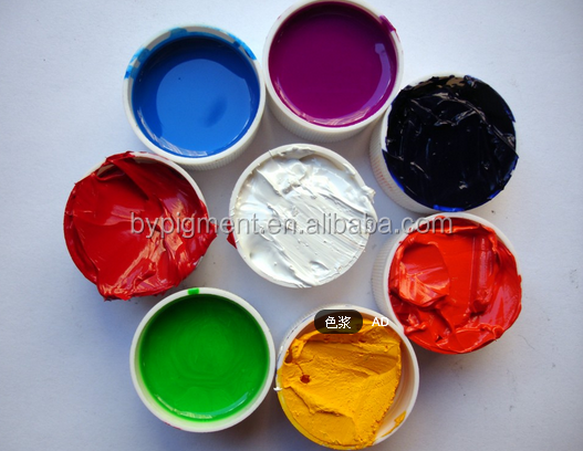 iron oxide paste used in car paint no polyurethane color paste