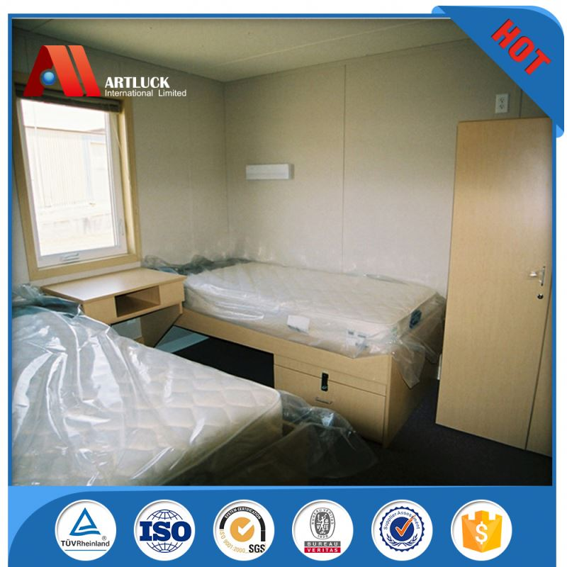 fast build movable prefab container house furnished