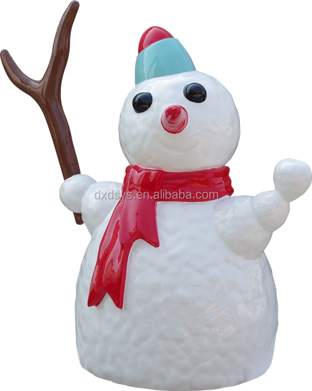 Snow Man PU Decoration