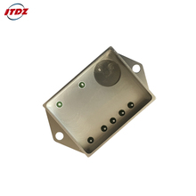 Flip flop components hermetic metal housing for electronic components