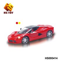 Toys for kids 1:18 scale 4 channel kids electric car with head lights luxury rc car