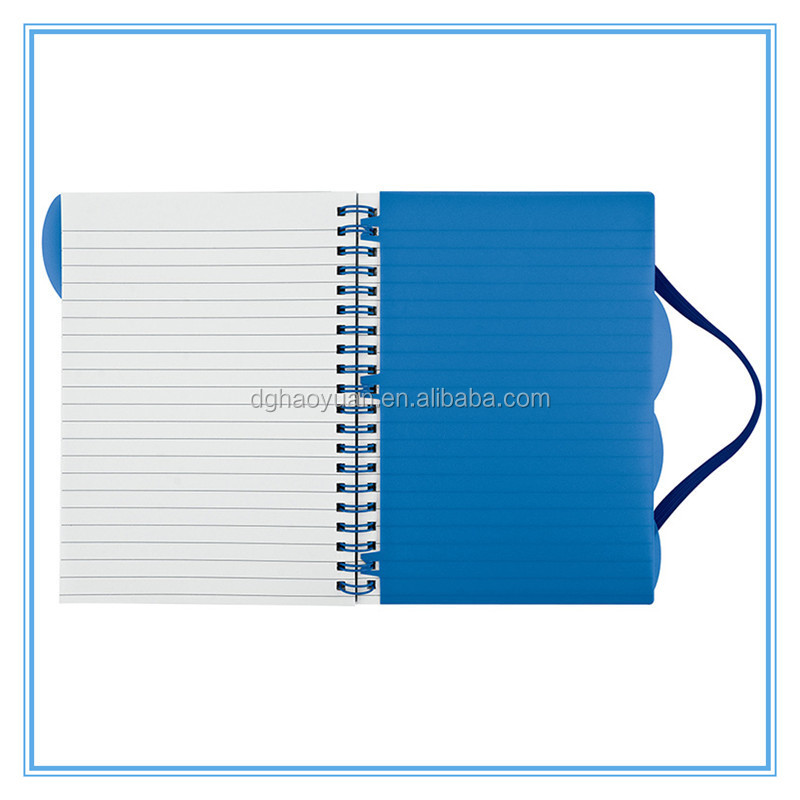 custom notebook, ring binder spiral notebook with colored paper