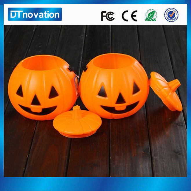 Small Light Decoration Plastic Halloween Pumpkin  Buy - Plastic Halloween Decorations