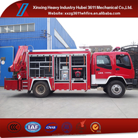 Hot Sale High Quality Diesel 8t Rescue Truck Fire Engine