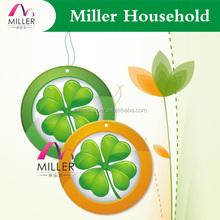 four leaf clover custom automatic paper hanging air freshener