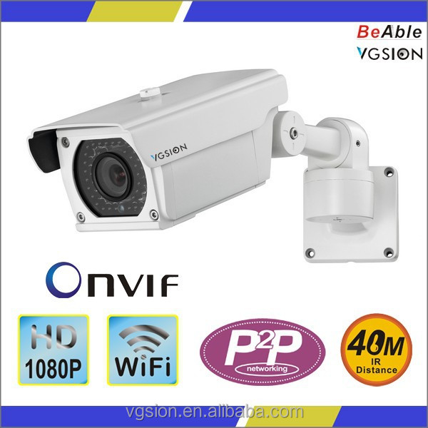 Classic Model Bullet Camera 1080P 2MP Wireless WiFi IP Camera for Outdoor Security from VGSION