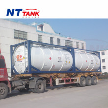 20 feet diesel transport portable fuel oil tank container manufacture