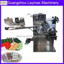 one month our client order 10000 set wholesalecandy,Ampoule,tablets,pill(horizontal loading) blister packing machine