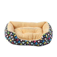 Custom Size Wholesale Cheap Canvas Pet Print Dog Bed Kennel