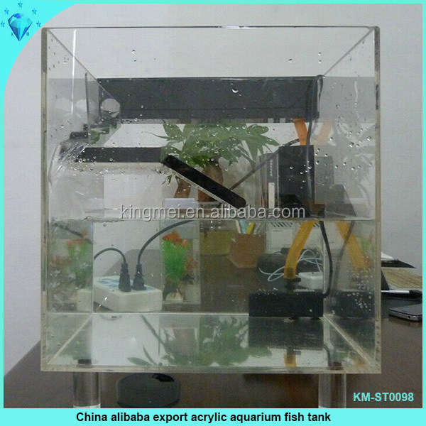 China Alibaba Export Acrylic Aquarium Fish Tank