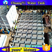 Agricultural and farm use low price irrigation GRP water tank