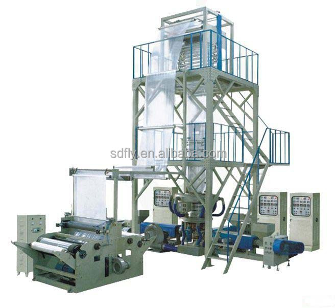 0.08-0.3mm LDPE wide greenhouse film blowing extruder machine