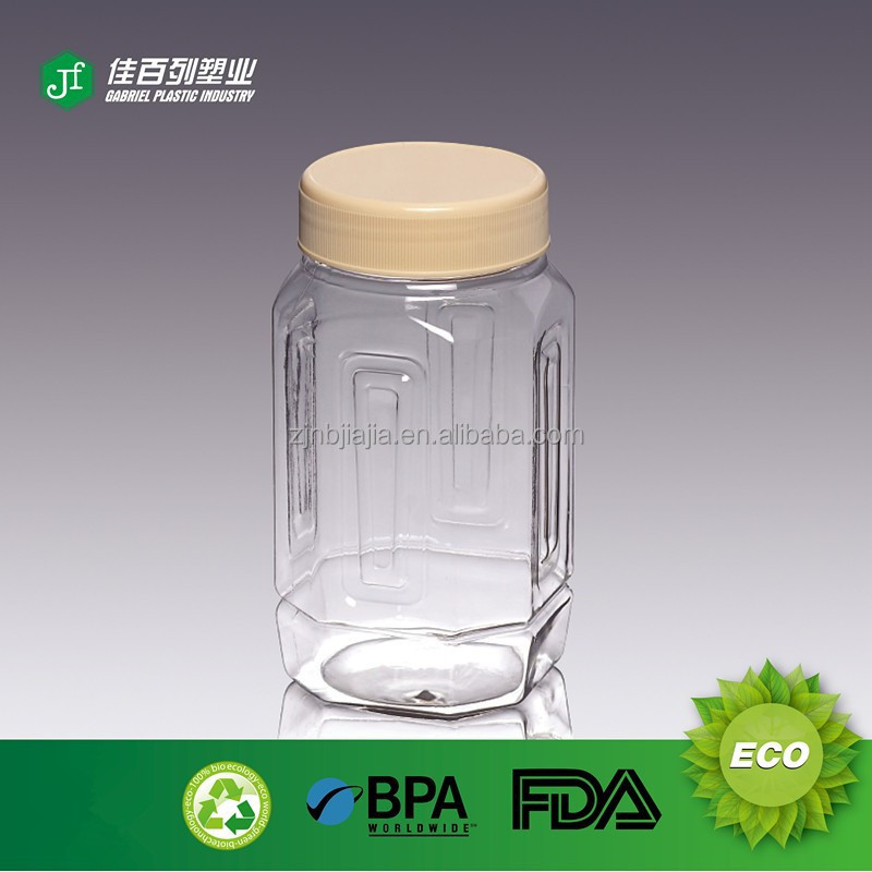 Wholesale Empty Square Mayonnaise Plastic Bottle