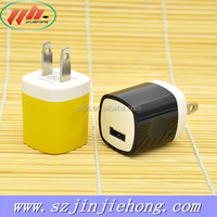 DC wall charger 5V 1A travel charger 5 volt 1amp micro usb charger