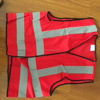 Red Reflective Security Vest