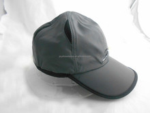 Running men style embroidery snapback sport cap winter hat with binding