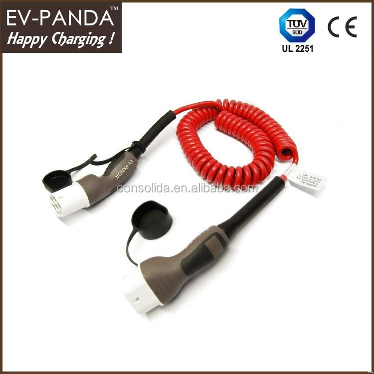 products electric car charging cables with CE