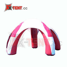 Red&White Inflatable Arch/Dome Tent (XT095)