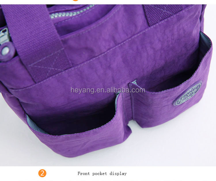 2015 4pcs 2colors Hot sale high quanlity aardman waterproof functional adult diaper bag for mother HY-1306