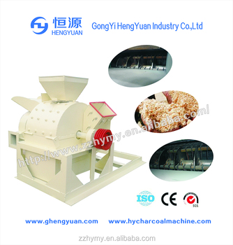 soybean stalks/plants crushing mill machine