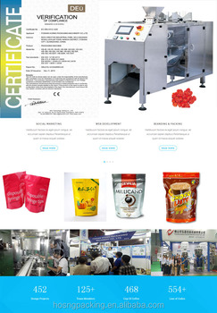 HS-180 Automatic Horizontal Pre-made Packaging Machine